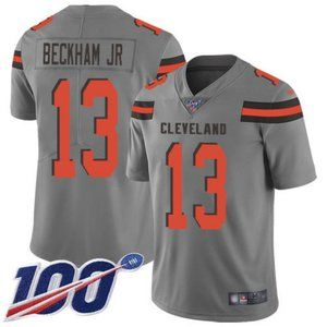 Browns Odell Beckham Jr 100th Season Jersey